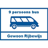 9 Persoons Bus